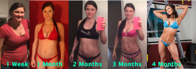 Losing the Baby Weight: 4 Months Postpartum – April King